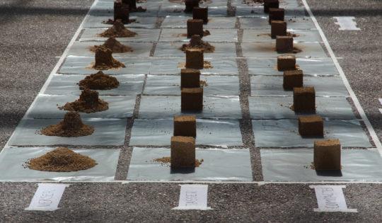 Matrice terre cure crée par Wilfredo Carazas utilisé par amàco