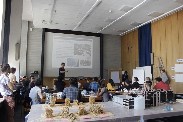 Trans-matérialité et transdisciplinarité pour apprendre à construire différemment avec ETH Zürich © Photo credits: Giulia Celentano, Chair of Sustainable Construction, ETH Zürich.