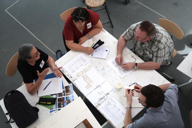 Animation d'ateliers et d'interventions par amàco aux premières rencontres du réseau de l'enseignement de la transition écologique des ENSA réseau ENSAECO