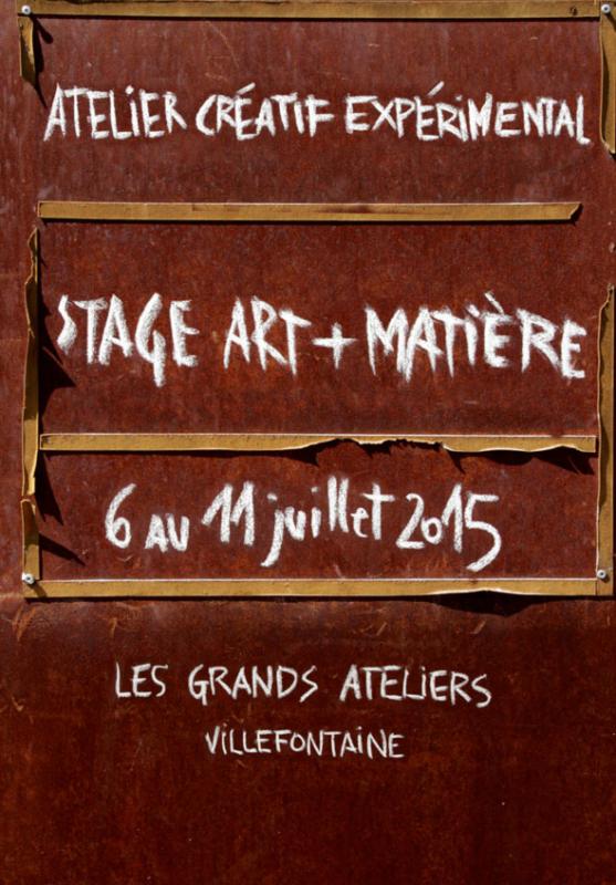 Formation Art et Matière 2015 © amàco