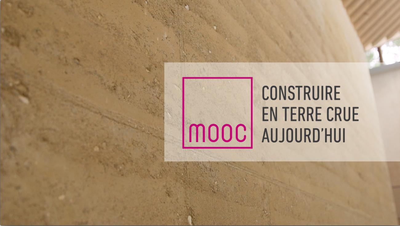 MOOC Construire en terre crue aujourd'hui – session 4