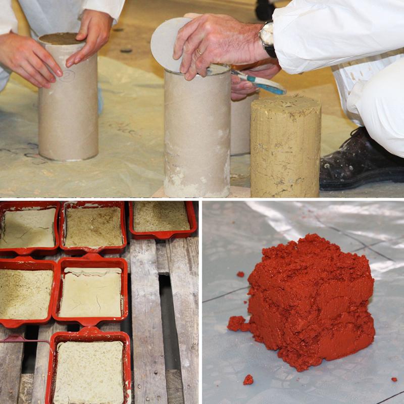 Formation dédiée aux matériaux innovants pour la construction durable à l'école des ponts © amàco