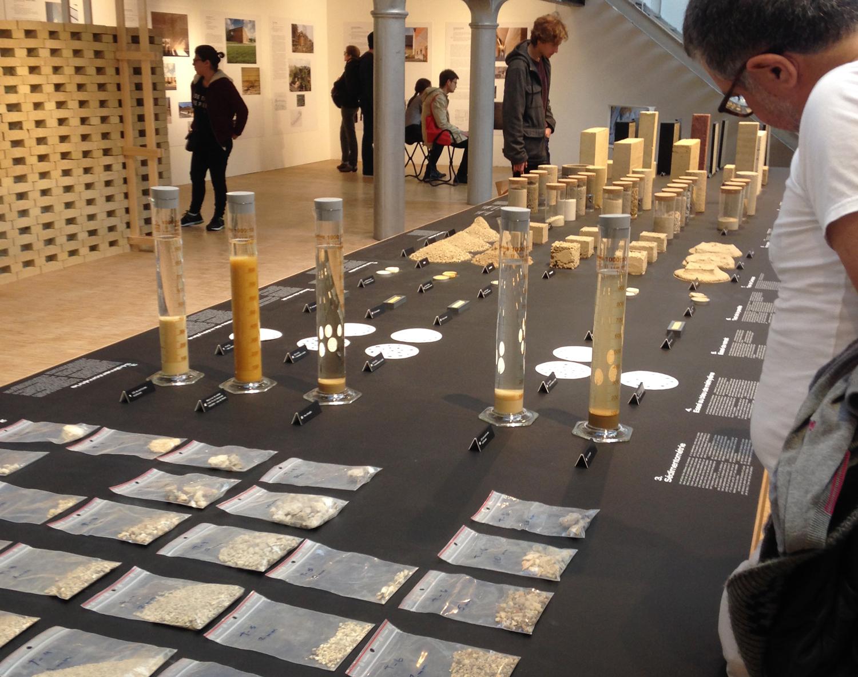 Terres de Paris, de la matière au matériau au Pavillon de l'Arsenal