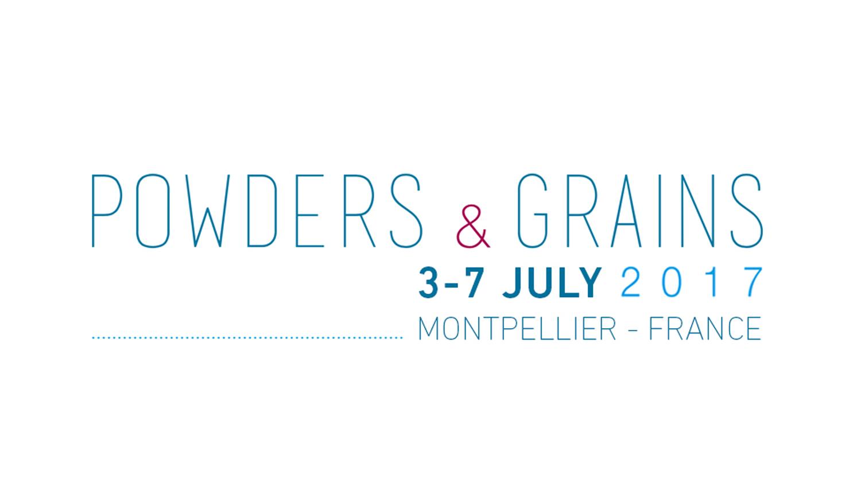 Powders & Grains, 8ème congrès international de la micro-mécanique des matières granulaires