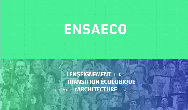 L'enseignement de la transition écologique dans les ENSA