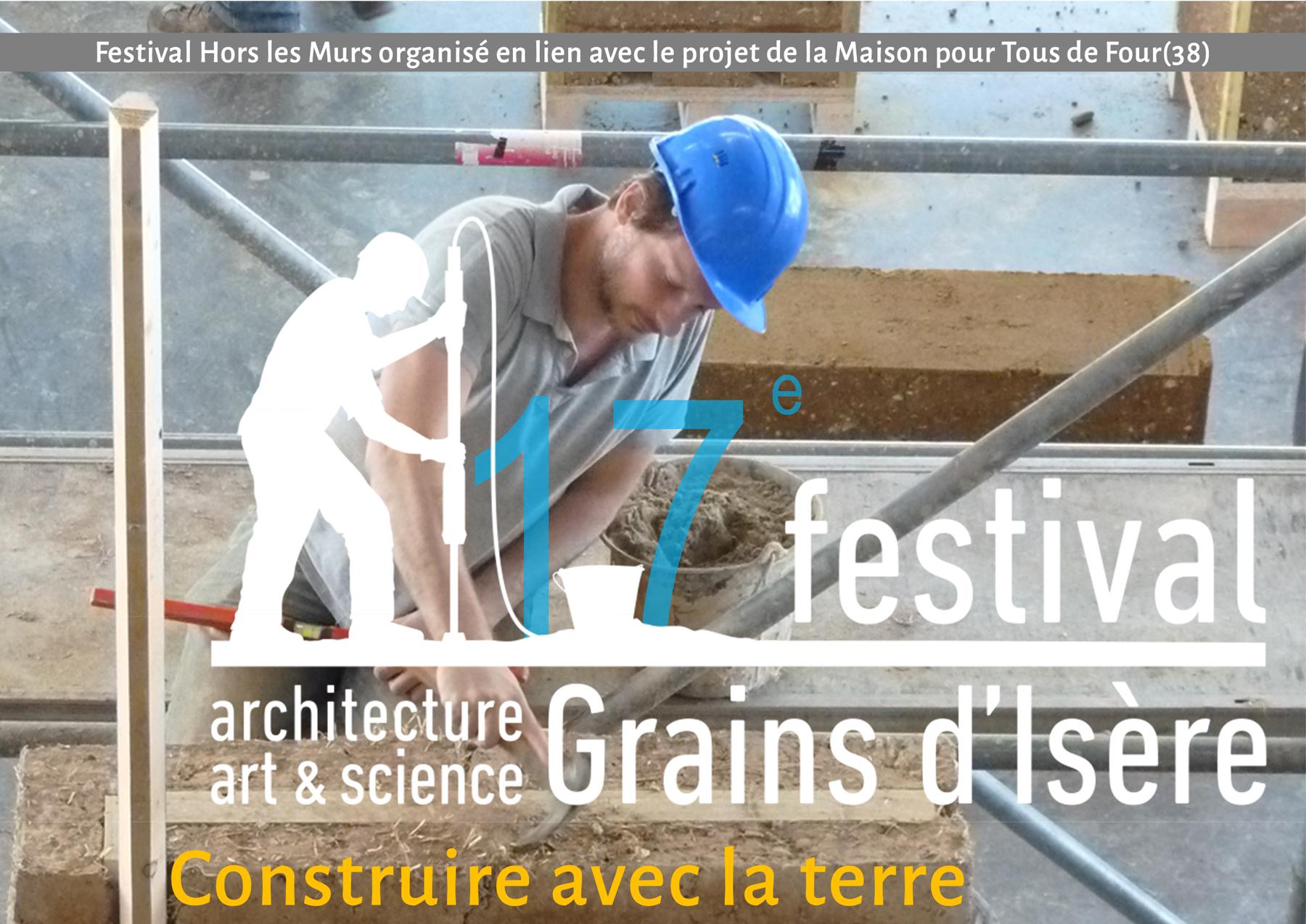 17ème Festival Grains d'Isère – ateliers pisé