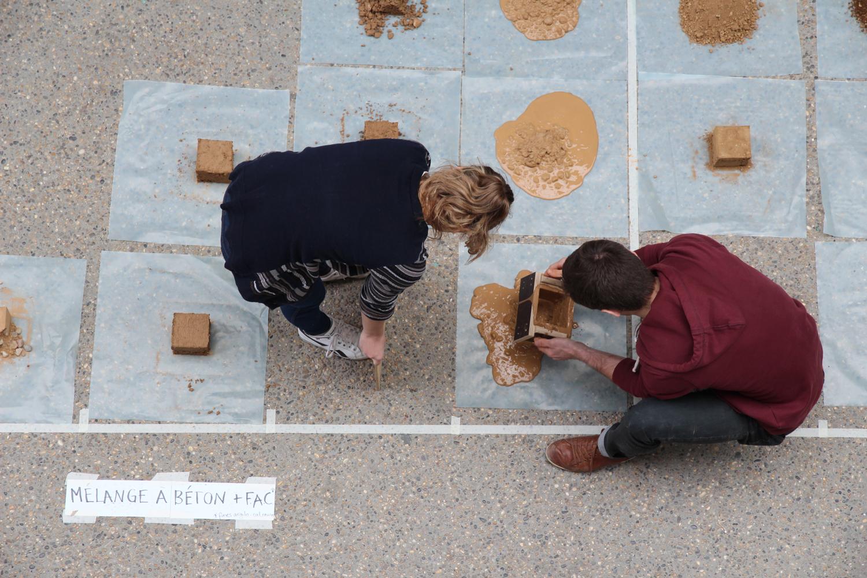Transformer la matière en matériau, journée d'exploration de l'ENSA de Lyon