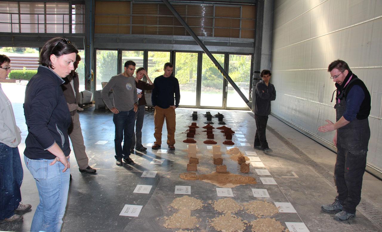 Formation des enseignants de l'ENSA Lyon au cours «Transformer la matière en matériaux»