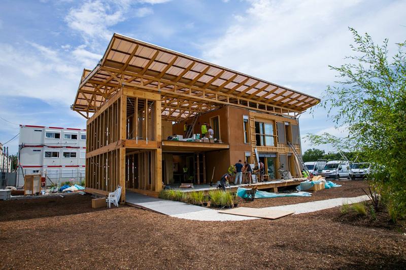 Prototype Terra Nostra : construire des habitats urbains en terre confortables, adaptatifs et éco-responsables