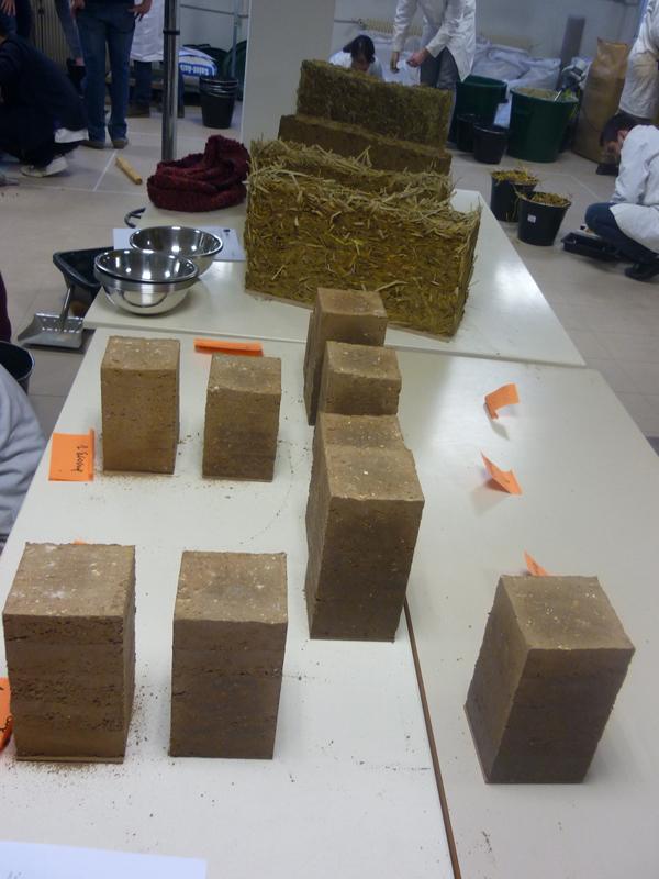 Formation dédiée aux matériaux innovants pour la construction durable à l'INSA Lyon © amàco