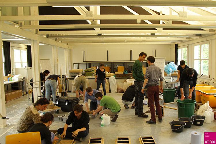 Trans-matérialité et transdisciplinarité pour apprendre à construire différemment avec ETH Zürich © amàco