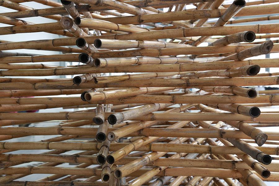 Construction de micro-architectures en fibres avec l'ENSA de Clermont-Ferrand