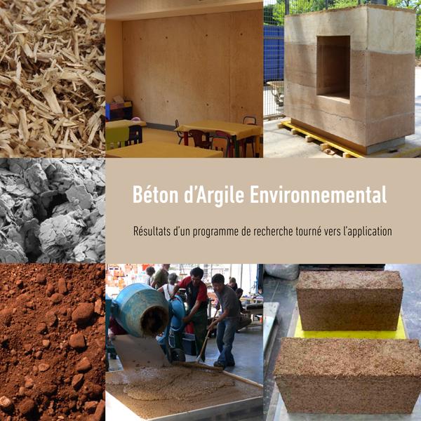 Béton d'argile environnemental