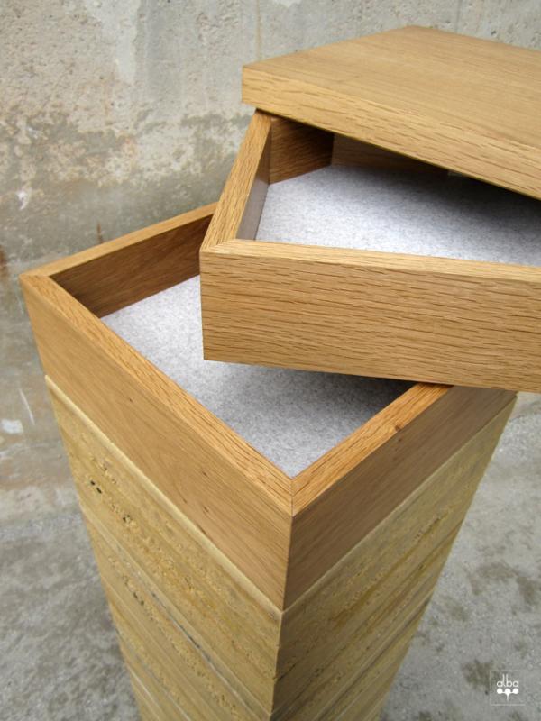 Design d'objet en terre crue pisé par l'atelier alba – inspiration pour amàco