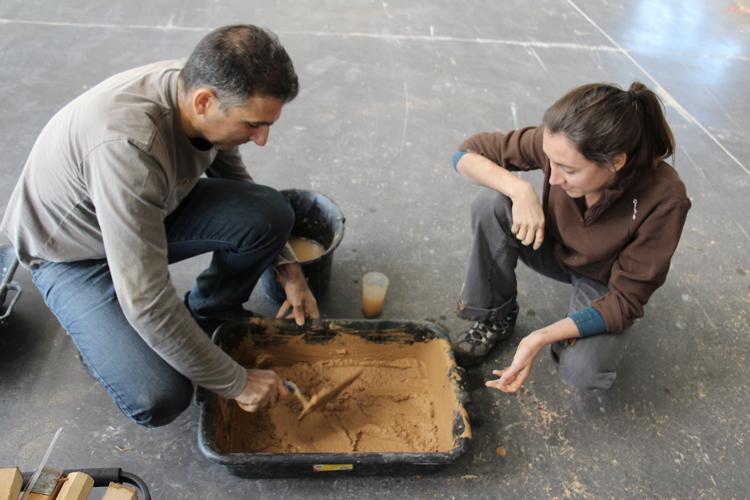 Journée de formation des enseignants aux outils pédagogiques d'amàco pour l'atelier Transformer la matière en matériaux © amàco