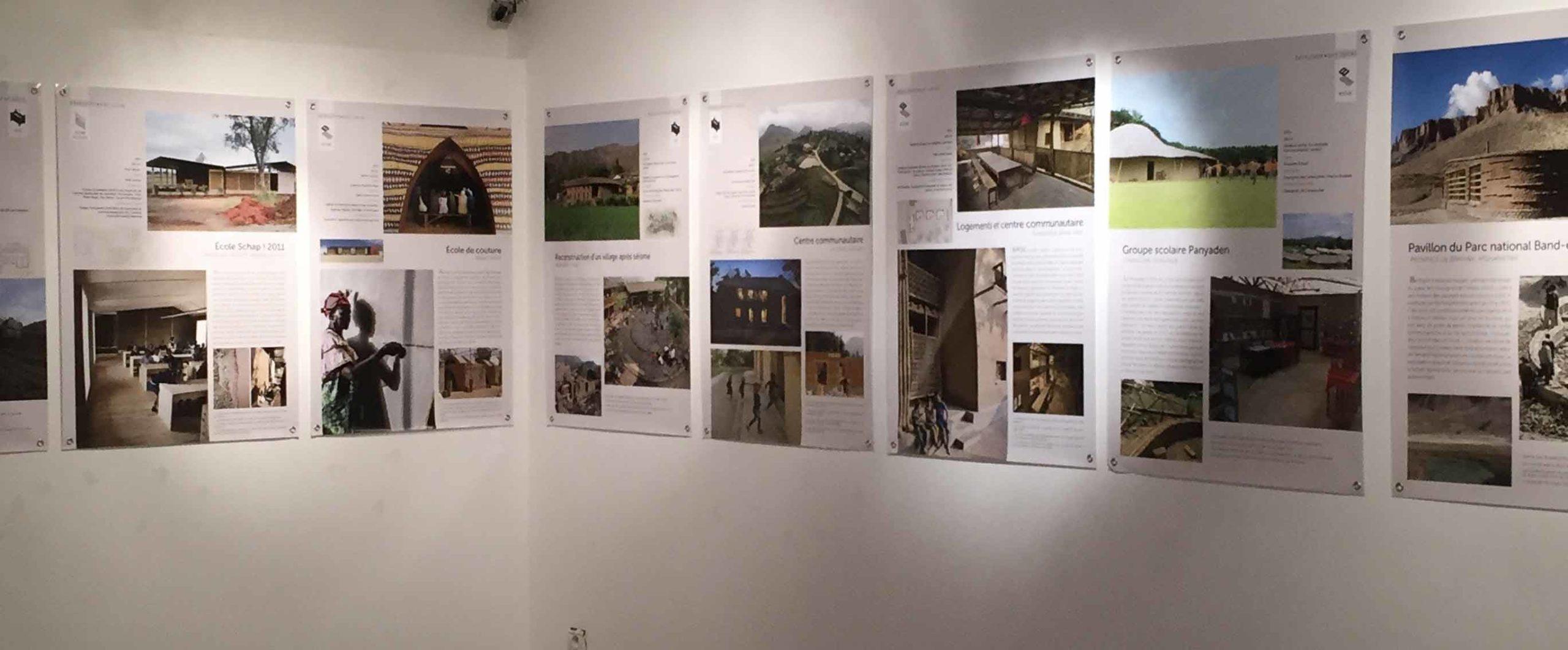 Architecture en terre d'aujourd'hui, l'exposition itinérante issue du TERRA Award