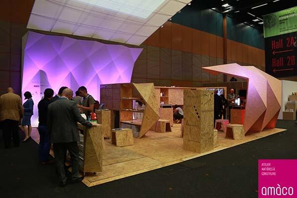 Trois jours de conférences expérimentales et d'exposition par amàco lors du congrès de l'Union Internationale des Architectes © amàco
