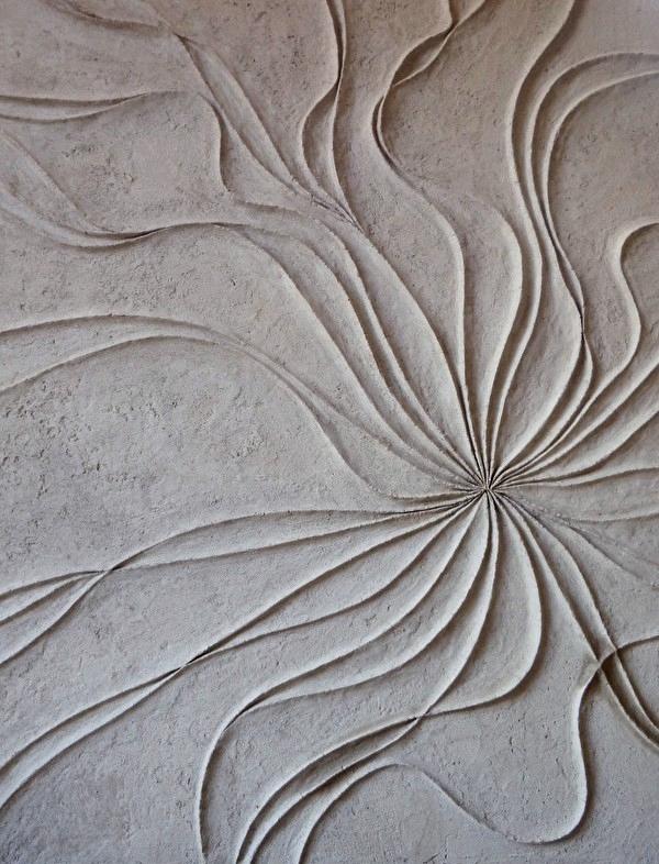 Reliefs réalisés à la main ©Isabella Breda