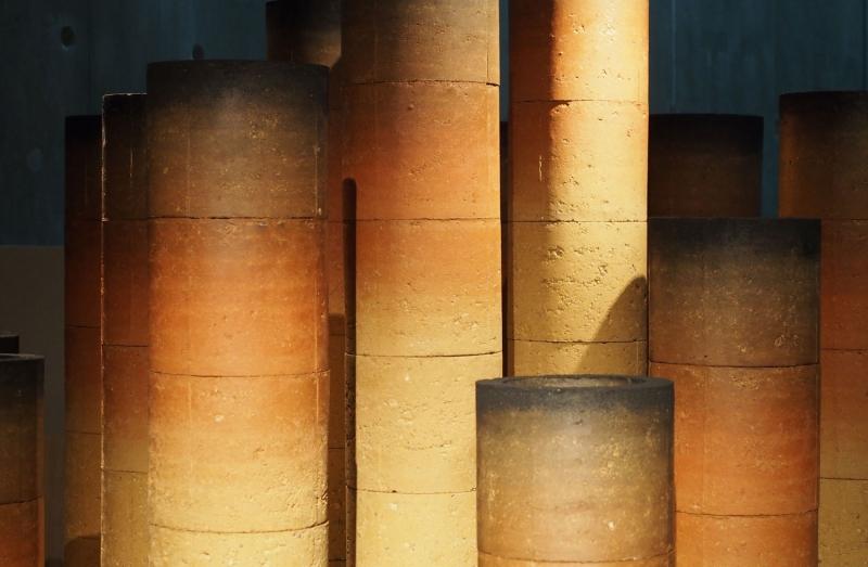 L'installation empreinte présentée à l'exposition archéoterra ©atelier alba