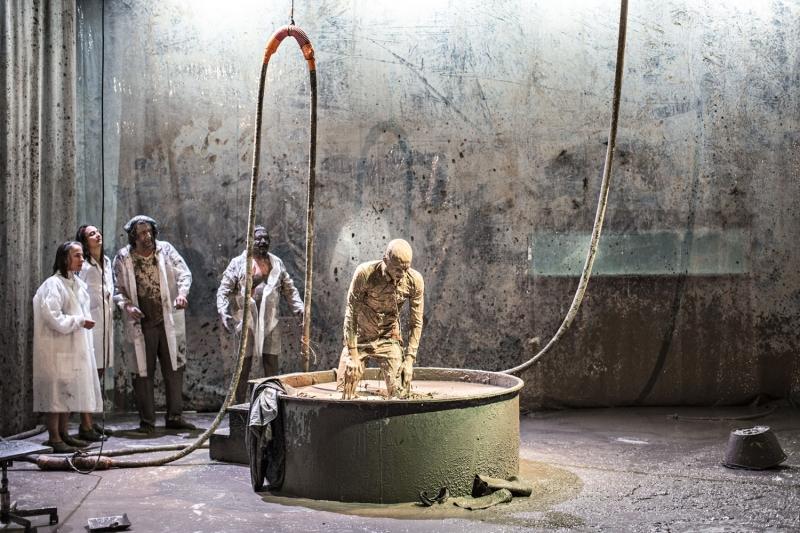 Le spectacle « La Vase » de la Compagnie La Belle Meunière © Jean Louis Fernandez