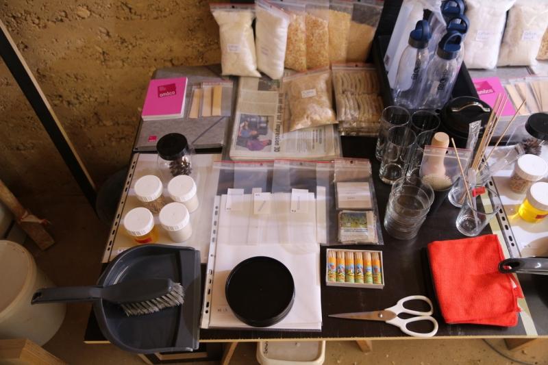 Matériels du kit pédagogique Manips fibres