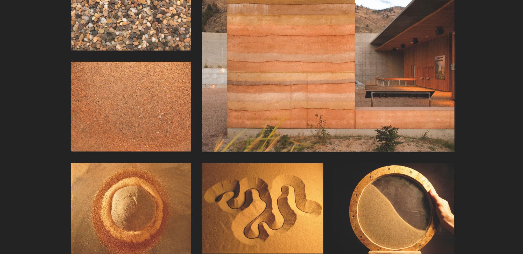 Exposition itinérante // Grains de Bâtisseurs – Construire en terre, de la matière à l'architecture